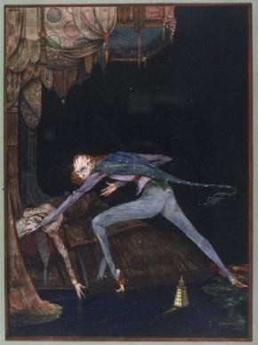 The Tell-Tale Heart, c. 1919, Harry Clarke